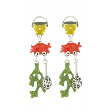 Taratata La Baignade Earrings(Crabs)
